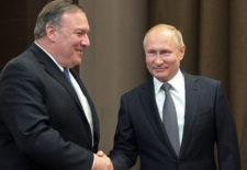 Кремль сообщил об итогах встречи Путина и Помпео в Сочи